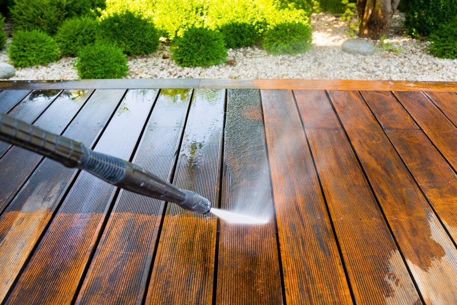 Deck Cleaning and Power Washing