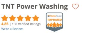 TNT Power Washing Home Advisor Reviews