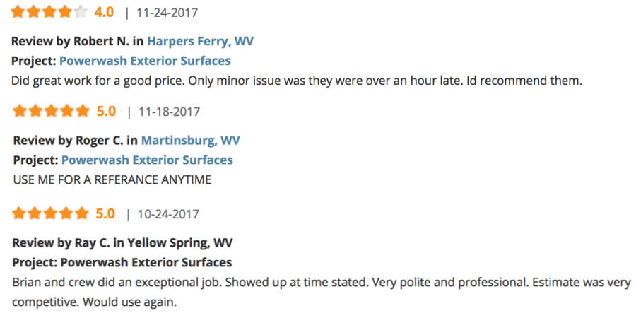 TNT Power Washing Reviews